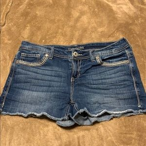 Juniors Jean cut off shorts